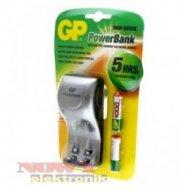 Ładowarka GP PB25GS100+2R03 1000 1000mAh MINI QUICK +2H3/1000