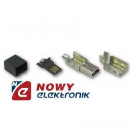 Wtyk mini USB FOTO CANON na kabel