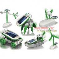 Zestaw solarny - CHAMELEON 6w1 -edukacyjna zabawka do składania