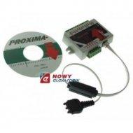 Moduł GSM PROXIMA powiadomienie Dialer GSM, 8 wejść,4 wyjścia