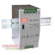 Zasilacz imp. DIN 12V/10A  DR120 DR 120-12 Przemysłowy na szynę
