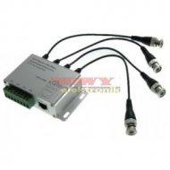 Transformator video 804FC 4CH pasywny