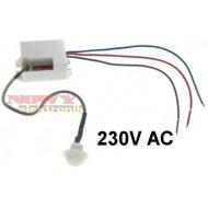 Czujnik ruchu MINI PIR 230V AC do zabudowy, do LED