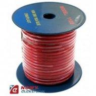 Przewód sam.1*5,22mm Cu czerwony do wzmacniaczy (AC Power)