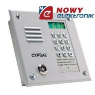 Panel CYFRAL PC-1000 Srebrny Dallas, do centrali cyfrowej