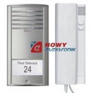 Zestaw domofonowy P1TK6 (A) duży przycisk wywołania, unifon TK6