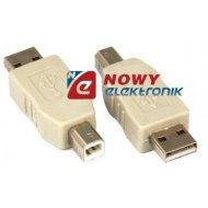 Przejście USB A-wt/B-wt adapter