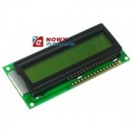 Matryca LCD WC1601ASFYLONC06 16x1,LED,pomarańczowy