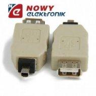 Przejście USB A gn/wt FotoMitsum adapter