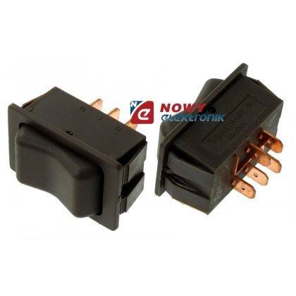 Przełącznik (on)-on-(on) ASW-27 12V 40A  do szyb samochodowych