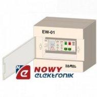 Sterownik dzwon. szkolnych EW-01 elektroniczny woźny 230V AC ZAMEL