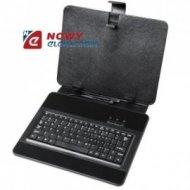 """Etui na Tablet 9,7"""" z klawiaturą mini USB  uniwersalny pokrowiec"""