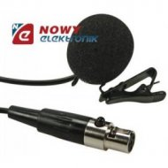 Mikrofon MICW45 z klipsem do MICW43(MICW41,MICW42)  miniXLR4p