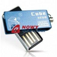 Pamięć PENDRIVE 32GB GoodRam CUB CUBE BlueBOX 9MB/s Zapis, 17MB/s Odczyt
