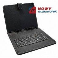 "Etui na Tablet 9,7"" z klawiaturą mini USB i micro USB  uniwersal"