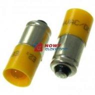 Kontrolka Led S5,7s 24V żółta