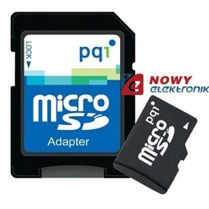 Karta pamięci microSDHC 8GB PQI UHS-I class 10 z adapt. SD