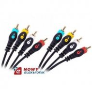 Kabel 4*RCA 3m Cabletech economic