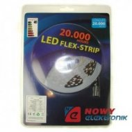 Taśma LED ZESTAW 5050 bia.zi. 5m 300LED + zasilacz  5m/300led