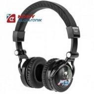 Słuchawki przewodowe z odtwarz. kart SD i radiem FM QUER