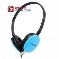 Słuchawki nauszne AZUSA SN-160 N niebieskie Jack 3,5