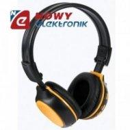 Słuchawki z odtwarzaczem MP3 oraz radiem FM VELLEMAN