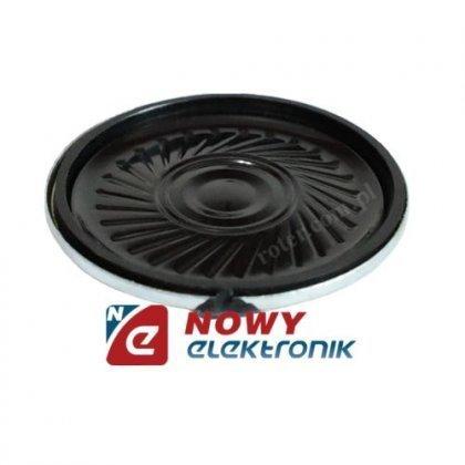 Głośnik miniaturowy 3cm 0,1W 8om
