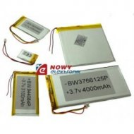 Akumulator do pakiet. 1000mAh 3p LI-POLY 3p 3,7V 8.0x30x39mm