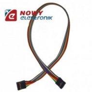 Kabel do płytek styk.2x5p ż/ż 40 połączeniowe  żeńsko-żeński 40cm