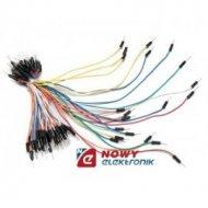 Zestaw kabli 65szt połącz.1p m/m męsko-męskie różne długości