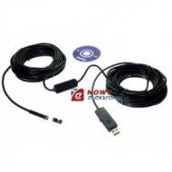 Kamera inspekcyjna USB 7mm z przewodem 20m (ENDOSKOP)