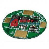 Układ zabezpiecz. PCM okrągły Li-Ion/Li-Pol 3.6V/3.7/3.5A/6.9A