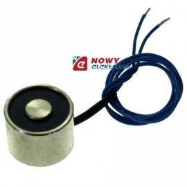 Elektromagnes trzymający 20x15mm 2kgf/12V mocowanie na śrubę M3