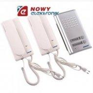 Zestaw domofonowy ORNO RL-903 dwurodzinny