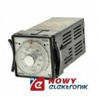 Regulator temperatury TC52-400 PT100 0-400st.C 230VAC analog. na panel