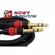 Kabel jack 6,3st. wt.-wt.5m MK63 stereo VITALCO