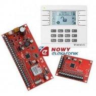 Zestaw alarm. GENEVO ( PRIMA16 + manipulator LCD WH-WH + moduł EXT-Z8