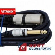 Kabel Jack 6,3m. wt.-wt.XLR 5m mono/kabel mikrof. MK34 Vitalco