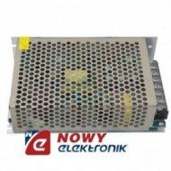 Zasilacz imp. 12V 6,5A T80W Przemysłowy w metalowej obudowie