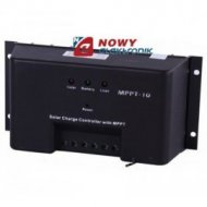 Kontroler solarny MPTT-10 12/24V 10A  ładowania regulator
