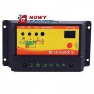 Kontroler solarny PWM NV12V010 12/24V10A LC ładowania regulator