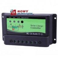 Kontroler solarny PWM NV12V010E 12/24V 10A  ładowania regulator