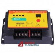 Kontroler solarny PWM NV12V030 12/24V30A LC ładowania regulator