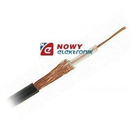 Przewód konc. 50Ω RG174linka SAU czarny (03000603)