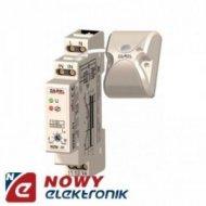 Wyłącznik zmierzchowy WZM-01/SOS DIN 230V/16A/IP20 z sondą