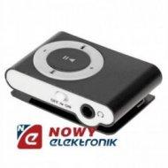Odtwarzacz MP3 QUER z czyt.czar z czytnikiem kart czarny