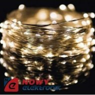 Lampki ozdobne NANO WIRE 10M WW 100LED IP44 choinkowe christmas