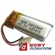 Akumulator do pakiet. 35mAh LI-POLY 3,7V 4x11,5x21mm