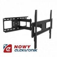 """Uchwyt LCD 37-70"""" 50kg czarny LED reg. w pionie i poziomie"""
