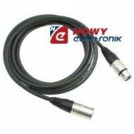 Kabel mikr.5m wtXLR3p gn.XLR3p canon